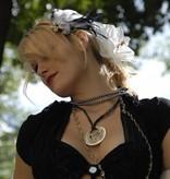 Weiße Amaryllis Haarblüte 2 x