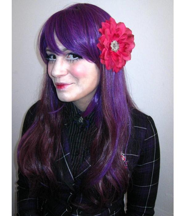 Haarblüte Pink Passion Dahlie 2 x