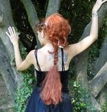 Zopf & offenes Haar, Wellen, 2 in 1 Haarteil