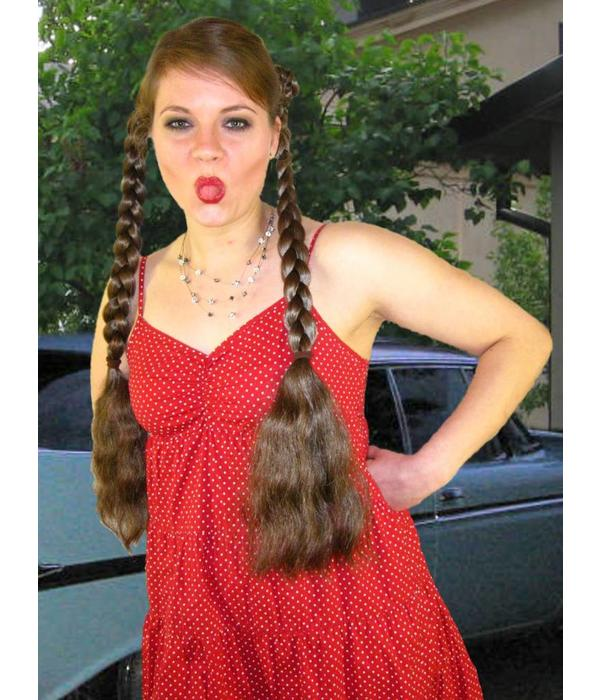 Braids Braided Hair Pieces Natural Waves Custom Color Hair