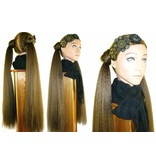 Braids/ Plaits 2 x S size, crimped hair