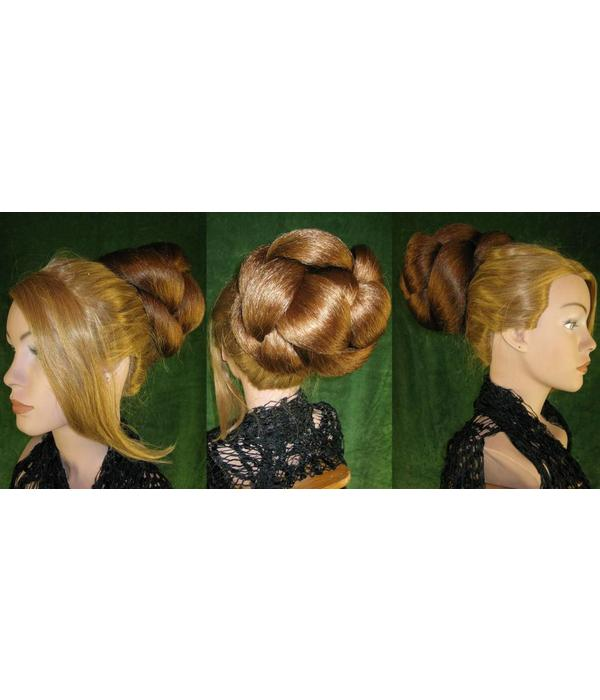 Supersize Braid/ Plait, crimped hair