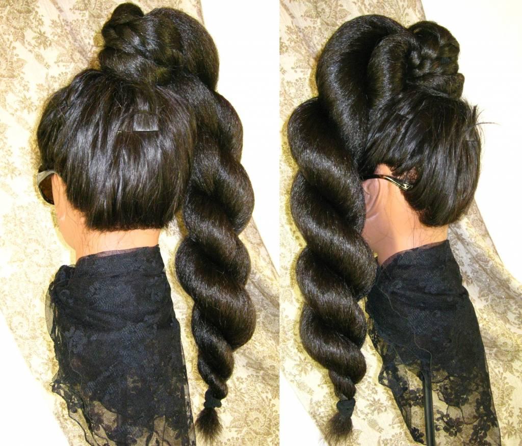 Braid Braided Hair Piece Natural Waves Custom Color Hair