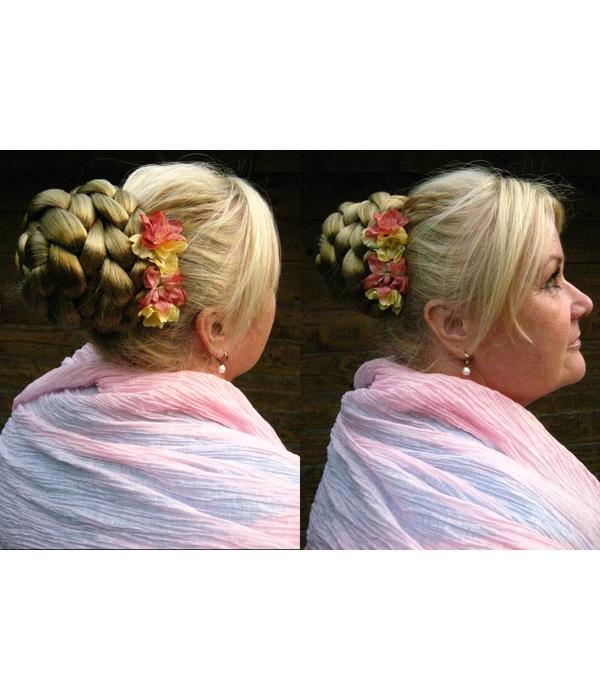 Braid/ Plait M extra size, crimped hair