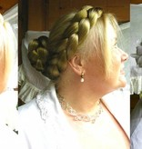 Zopf Größe M extra, gekrepptes Haar