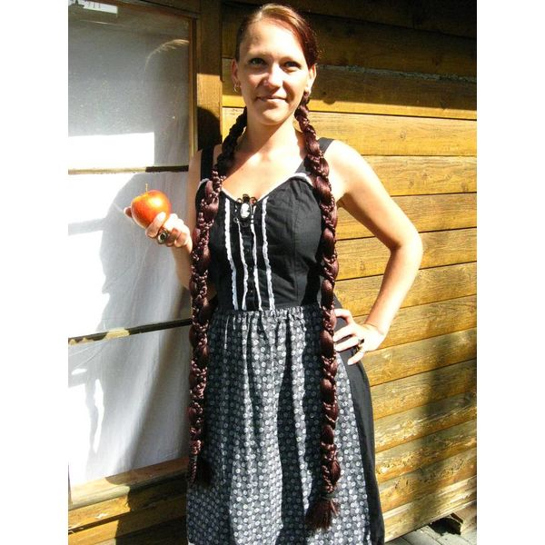 2 x Snow White Braid Extra
