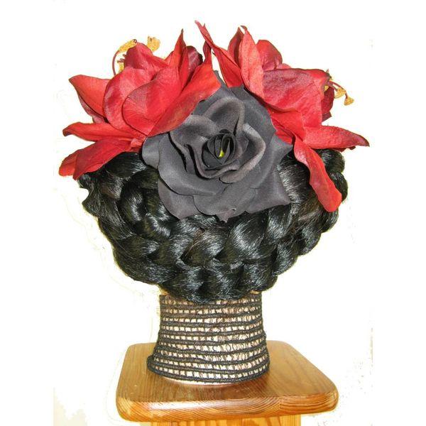 Goth Diva Hair Flower Set