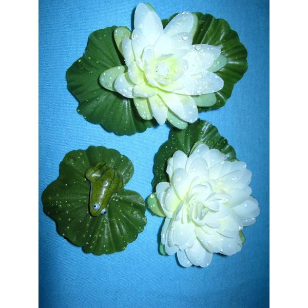 Mermaid Water Lily Hair Flower Set