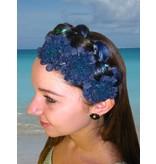 Blue-Teal Flowers