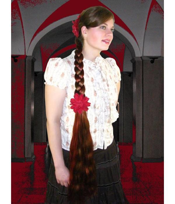 Braid size L extra, wavy hair