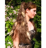 Fair Peacock Feather Extensions, 7 Feathers