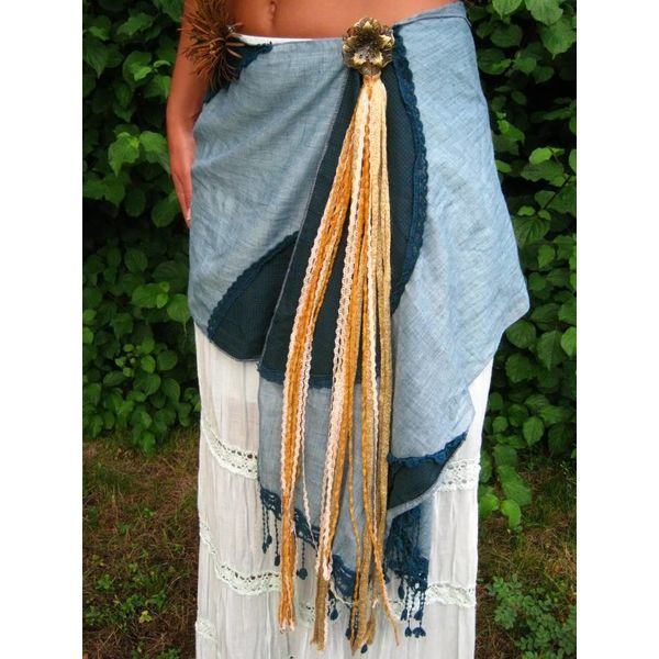 Gipsy Gold belt tassel