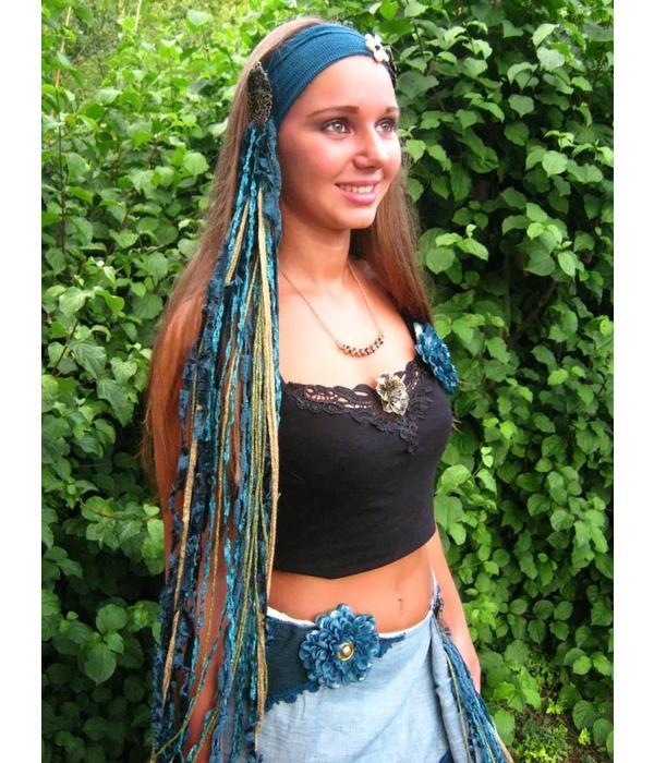 Golden Mermaid yarn fall