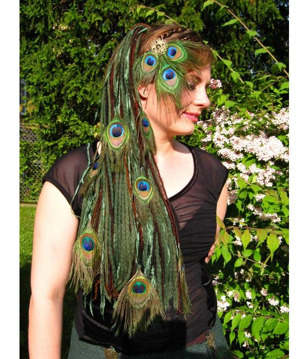 Forest Elf Peacock Dread Fall