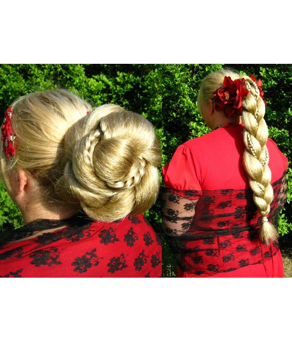 Supersize Fantasy Bun & Braid