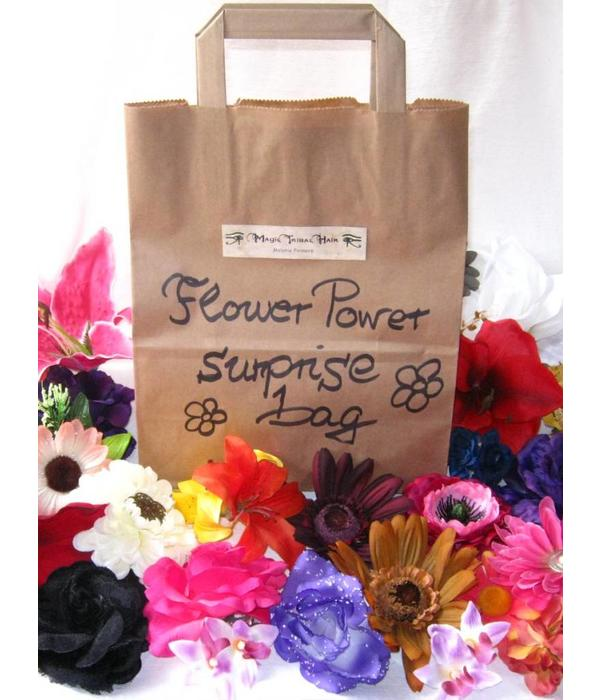 Flower Power Haarblüten Deluxe Wundertüte