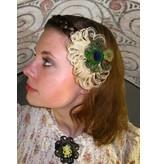 Steampunk Fairy Cameo Hair & Shoe Clip/ Brooch