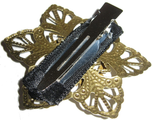 steampunk goth hair jewelry attachment