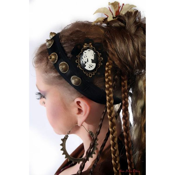 Steampunk Kamee Piratenbraut