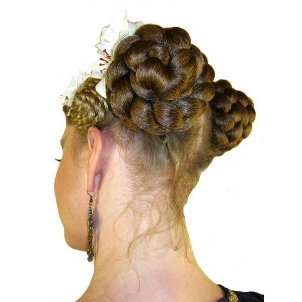 Braided Hair Buns