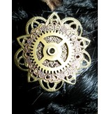 Mechanical Steampunk Copper Flower