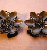 Steampunk Waterlily Hair Flower