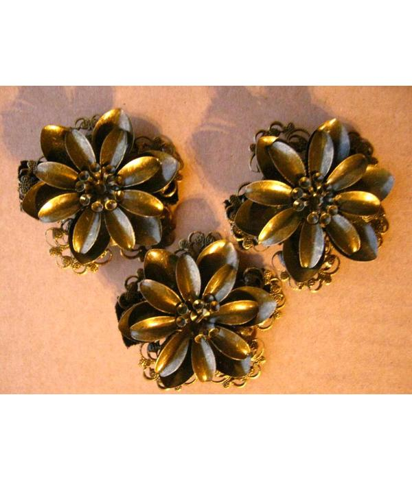 Steampunk Lotus Hair Flower