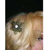 Steampunk Schädel Haarblüte