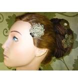 Steampunk Kamee Haarblüte