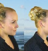 Steampunk Haarblüten-Mix, 2, 3, 4, 5 oder 6 Stück