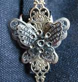 Steampunk Schmetterling Clip