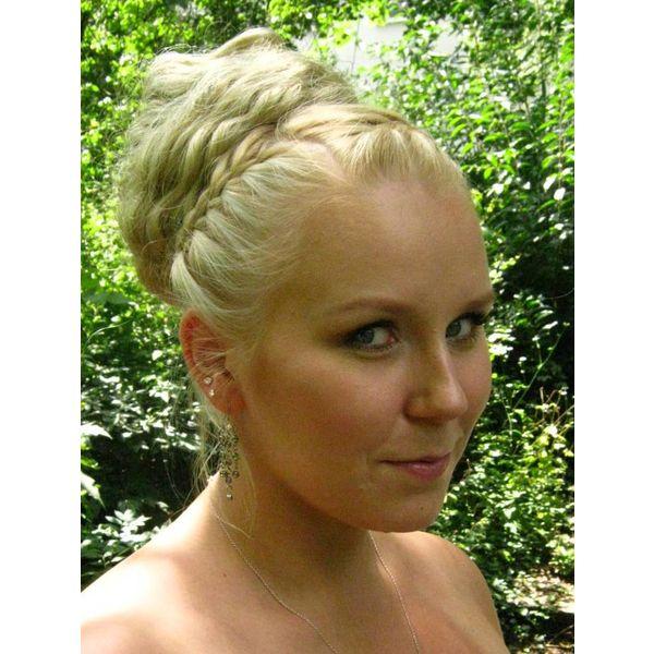 Haarteil für Hochsteckfrisur