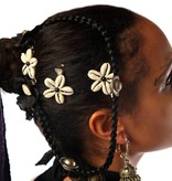 Kauri Haarblüten, schwarze Perlen