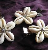 Kauri Haarschmuck, silber Ornamentperlen