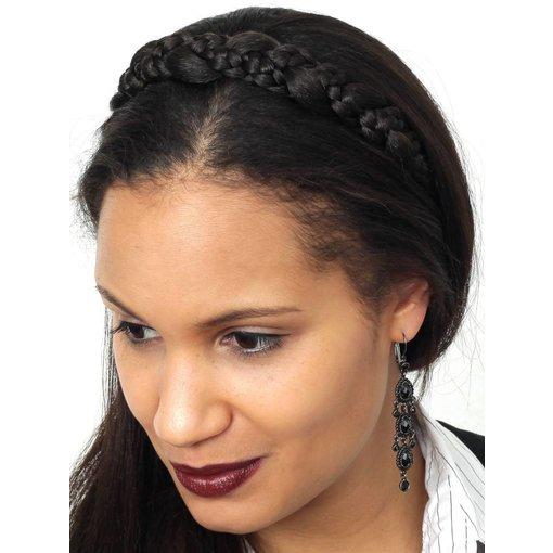 Geflochtenes Haarband Schneewittchen M