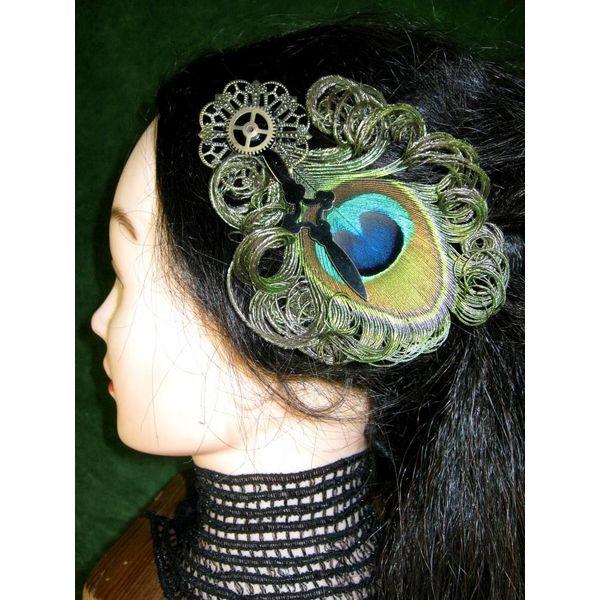 Steampunk Zeitgeist Peacock