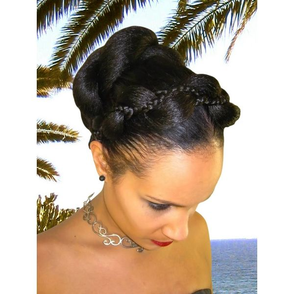 Supersize Fantasy Twist Bun & Braid