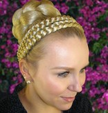Double Braid Hair Crown, thick