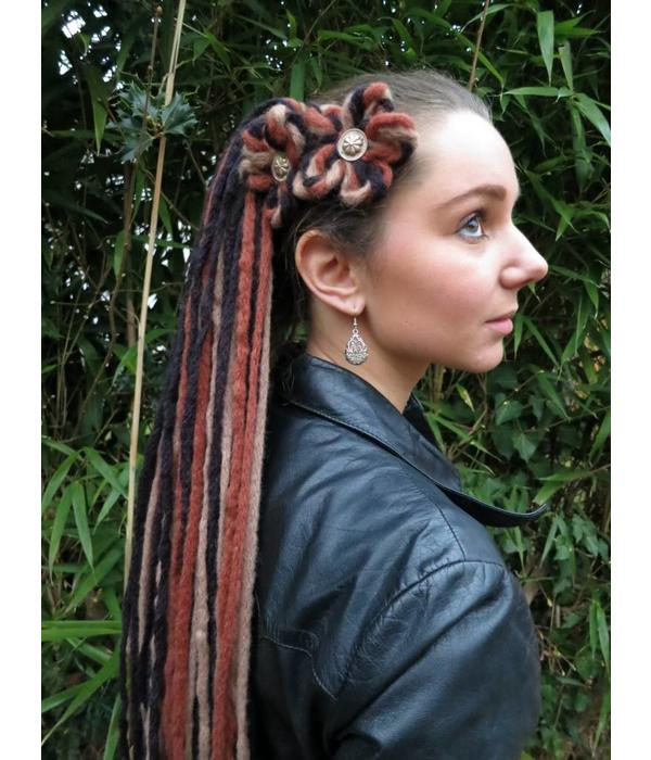 Steampunk Highlight Dreads