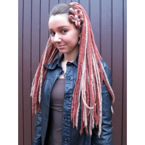 Blonde Brown Steampunk Dreads