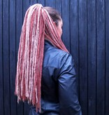 Blond Braune Steampunk Dreads