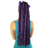 Purple Dream Yarn Hair Fall