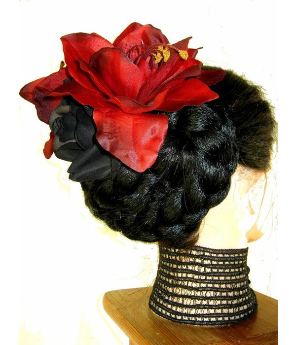 Goth Diva Hair Flower Set
