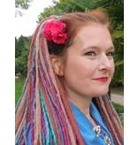 Pinke Lolita Haarblüten