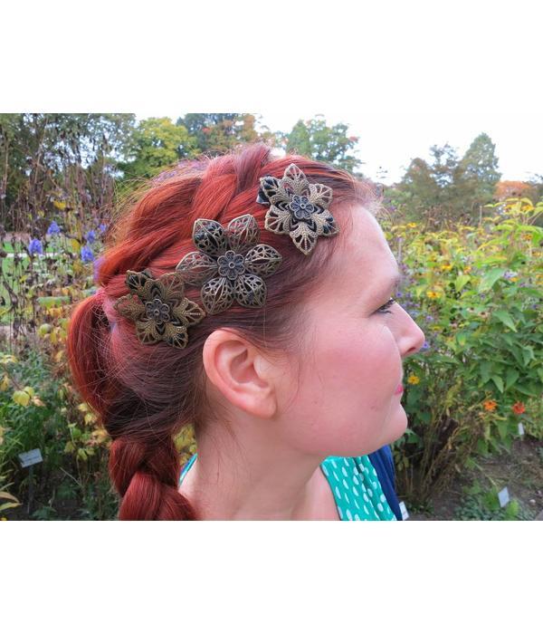 Boho & Gypsy Haarblüten-Mix