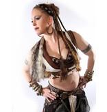 Steampunk Piratenbraut Haarteil
