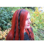 Clip-In Braids, plain & wavy - add your own decoration!