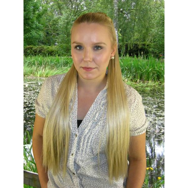 Hair Fall L straight - fair blonde