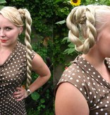 2 Haarteile Größe S Plus, Wellen