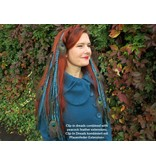 Goth Dreads Clip-Ins, many colors!